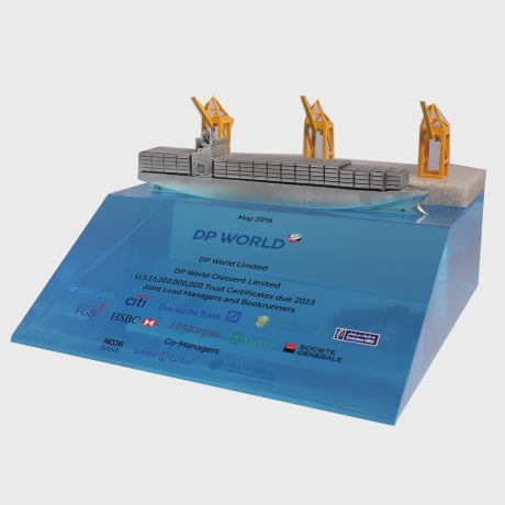 122944 Deal Toy boat transportation water transaction tombstone