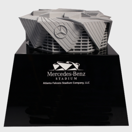 125360 Deal Toy stadium 3d printing base custom trophy