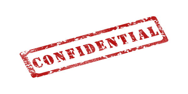 Have confidence that we'll keep your deal toy lucite confidential