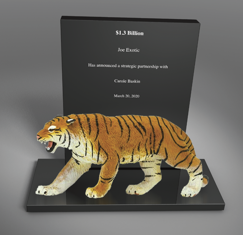 Tiger King Pandemic Deal Toy