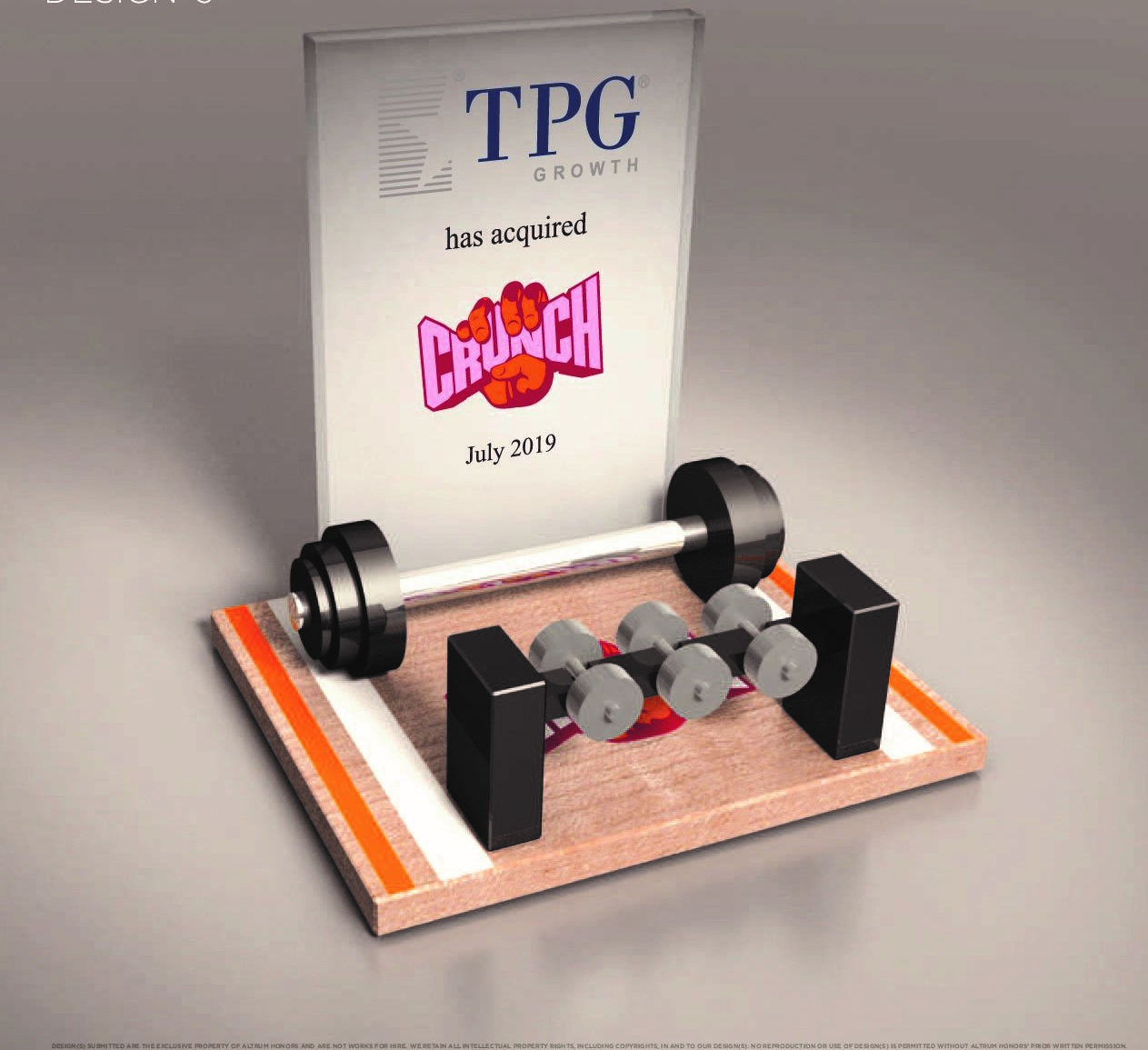 Gym deal toy