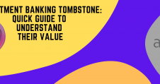 Investment Banking Tombstone Guide